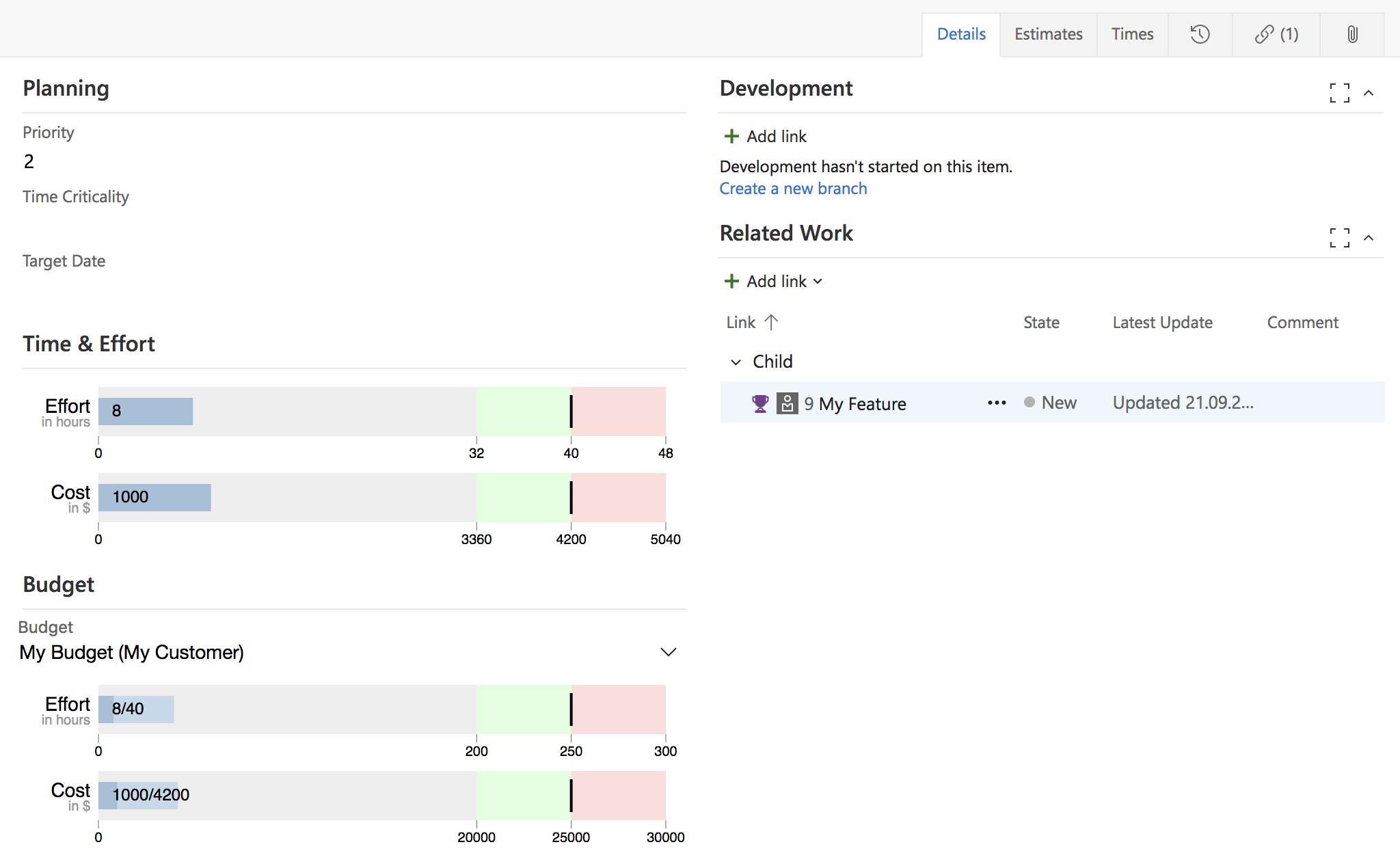 Time & Effort - Visual Studio Marketplace